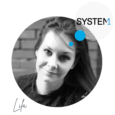 Lila Hunt System1 transparent