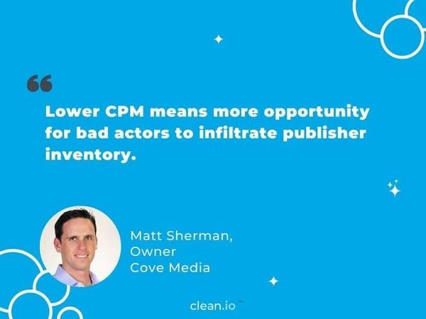 Matt Sherman quote