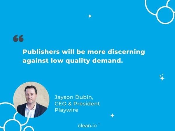 Jayson Dubin quote