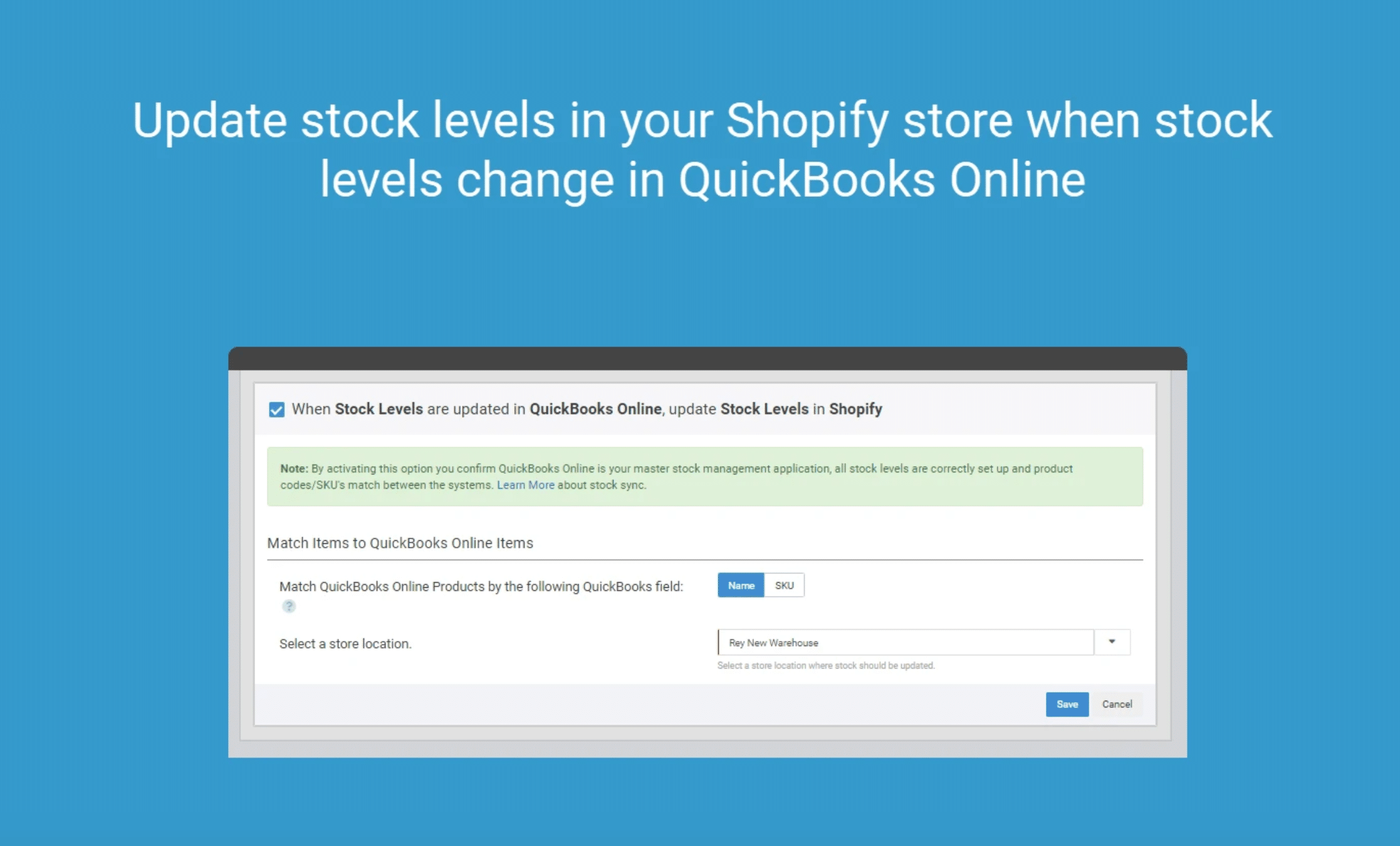 Automatically Update Inventory with Quickbooks Online