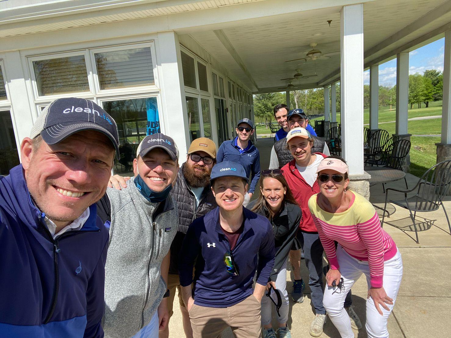 clean team golf outing v 2