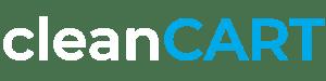 cleanCART-logo white