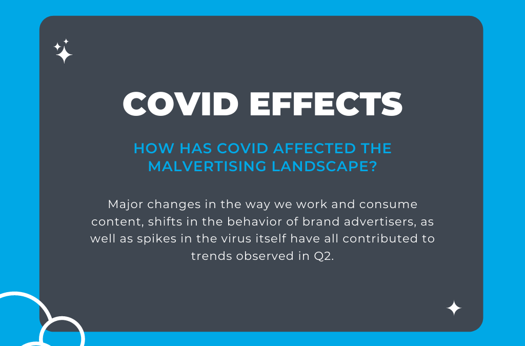 How COVID has Affected Key Malvertising Statistics in Q2 2020